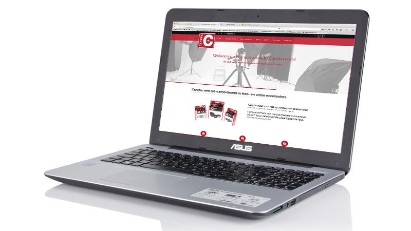 Nieuwe website Caruba