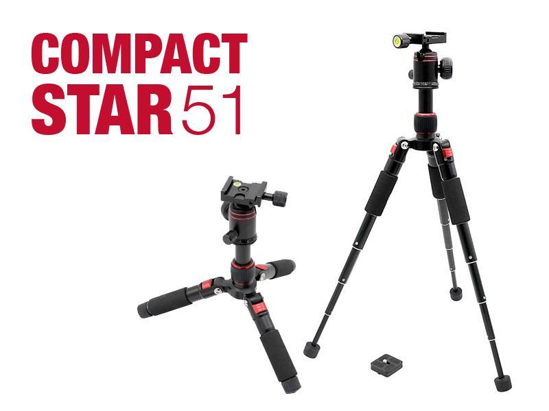 Productrelease: het Compactstar51 Tafelstatief