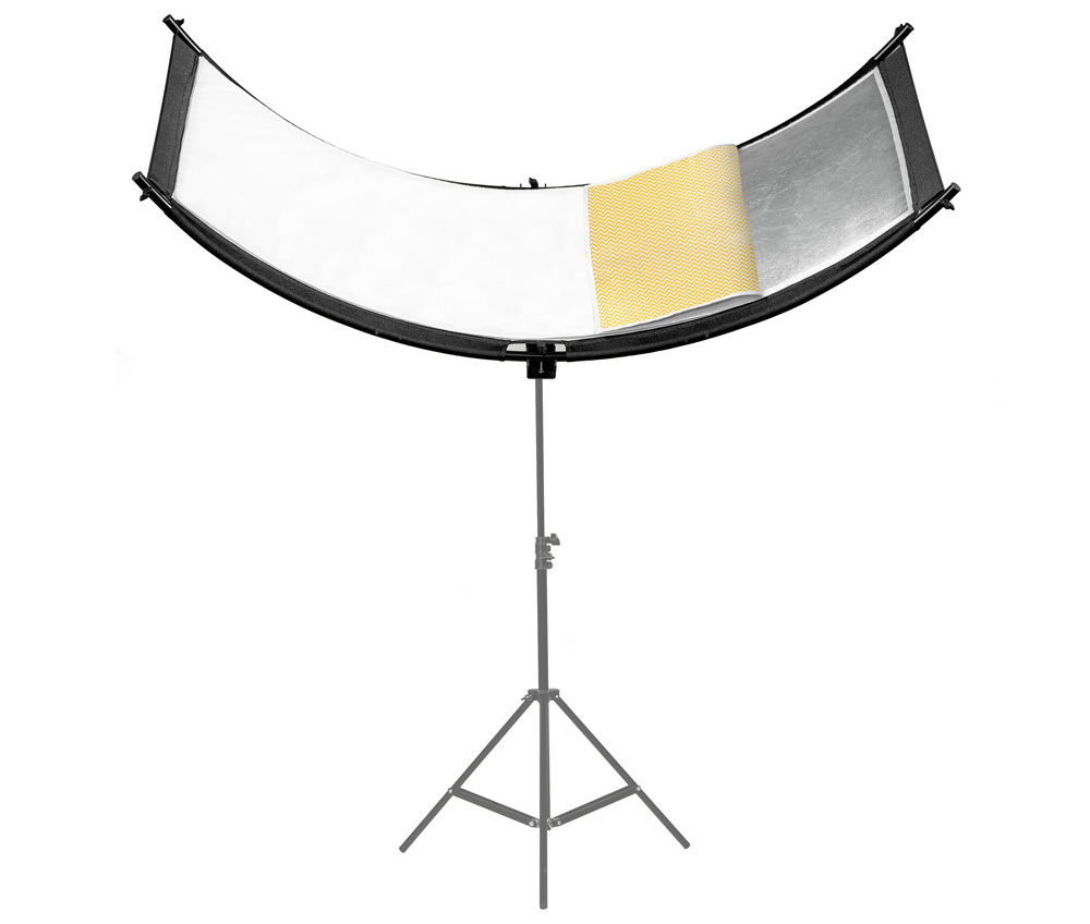 Curved Face Reflector