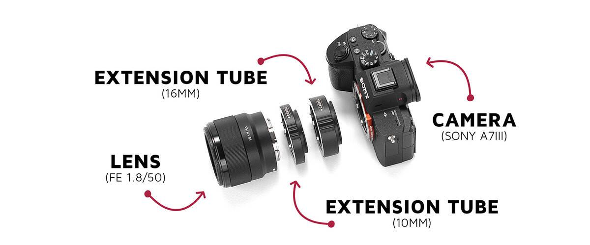Caruba Macrofotografie met Extension Tubes